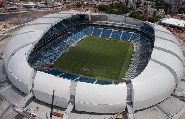 Natal on yksi kesäkuussa alkavien jalkapallon MM-kisojen isäntäkaupungeista.