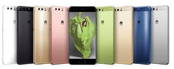Huawein uutuuspuhelin on saatavissa useissa eri väreissä