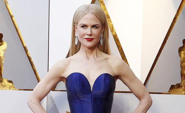 Nicole Kidman hoiti hämähäkin pois uima-altaalta.