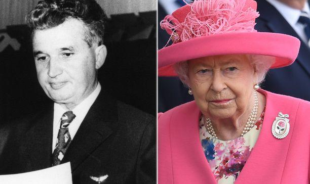 Diktaattorina tunnettu Nicolae Ceausescu ei ollut odotettu vieras brittihovissa.
