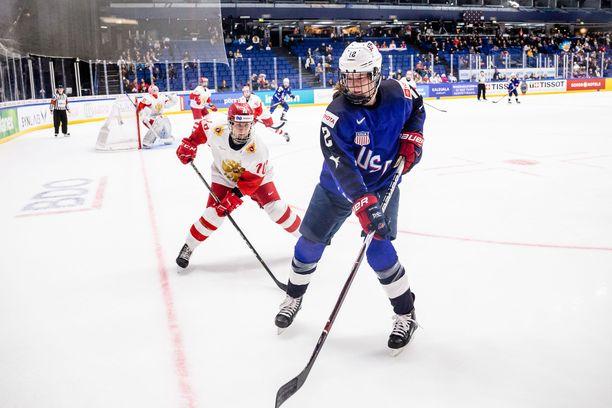 USA kurmotti Venäjää oikein kunnolla MM-välierässä.
