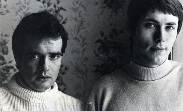 Miehet menestyksen takana: Kit Lambert ja Chris Stamp ryhtyivät The Whon managereiksi ilman kokemusta musiikkibisneksestä.