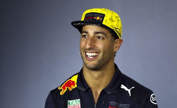 Daniel Ricciardon omistaa yhä ensimmäisen autonsa.