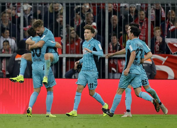 Lucas Hölerin maali riisti Bayernilta kaksi pistettä.