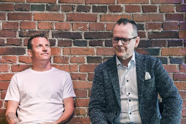 Kimi Räikkösen ja Kari Hotakaisen yhteinen kirjaprojekti on aikamoinen menestystarina.