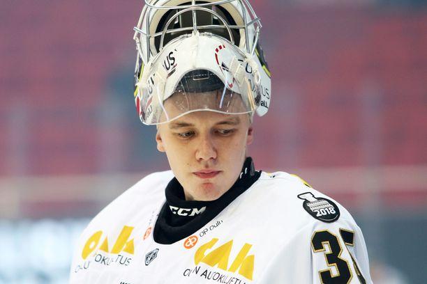 Veini Vehviläinen pelasi nollapelin Raksilassa.