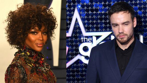 Naomi Campbell ja Liam Payne ovat vaihtaneet vihjailevia kommentteja somessa.