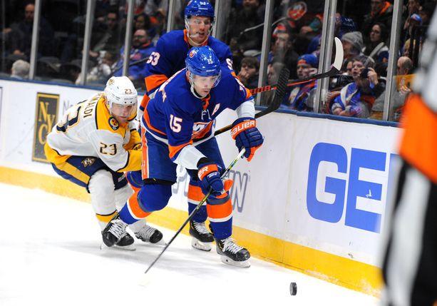 Cal Clutterbuckilla oli torstain NHL-kierroksella huonoa tuuria.