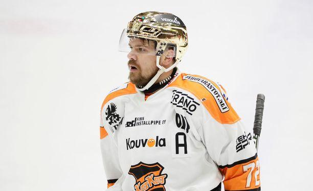 Juha-Pekka Haataja iski viime kaudella runkosarjassa tehot 20+21=41.