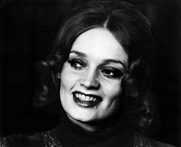 Irina Milan on tehnyt pitkän uran. Kuva vuodelta 1976.