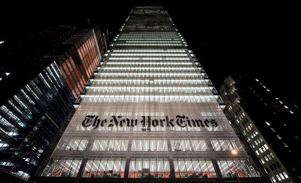 Muun muassa New York Times on joutunut tietomurron kohteeksi.