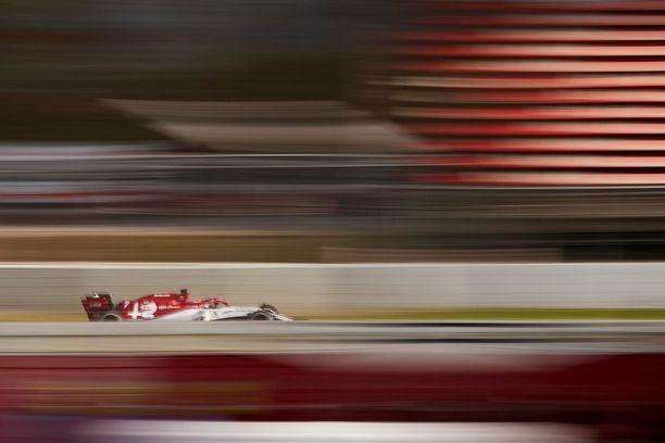 Kimi Räikkönen päätti testiviikon keskiviikon urakkaan.