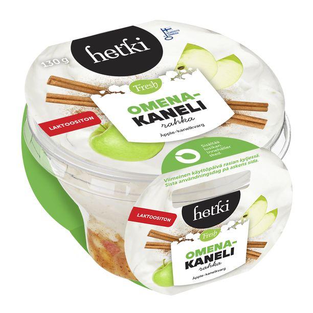 Tämä Omena-kanelirahka on kuin kotona tehty. Se ei ole ihme, sillä rahka valmistetaan aidoista ja parhaista raaka-aineista ja se maistuu niin kotoisalta.