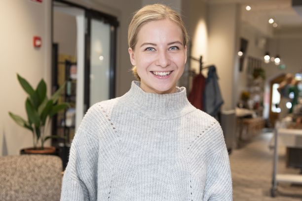 Sonja Hämäläinen, eli Soikku, opiskelee elokuvatuotantoa kolmatta vuotta.