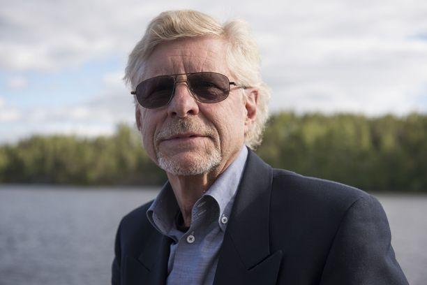 Seppo Hovi suunnittelee parhaillaan uutta ohjelmaa. Kuva on vuodelta 2017.