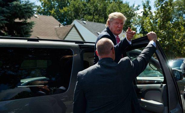 Donald Trumpin lausunnot ovat synnyttäneet vastakkaisia näkemyksiä presidenttiehdokkaan maahanmuuttonäkemyksistä. Kuvituskuva.