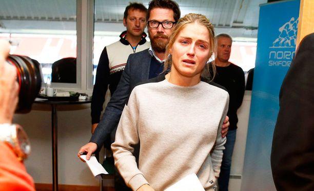 Therese Johaugia uhkaa neljän vuoden kilpailukielto, jos antidopingviranomaiset eivät usko hänen selitykseensä.