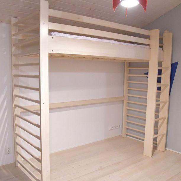 nuorten sänky Suomalaisäiti kehitti sängyn, joka on myös liikuntatuote nuorten sänky