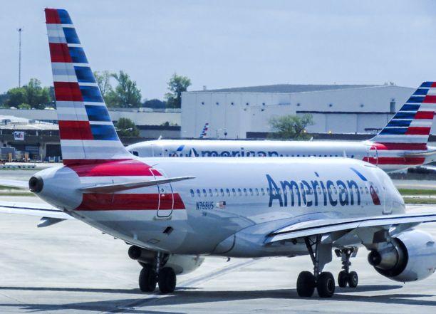 Kyseessä oli American Airlinesin lentäjä ja matkustajakone. Arkistokuva.