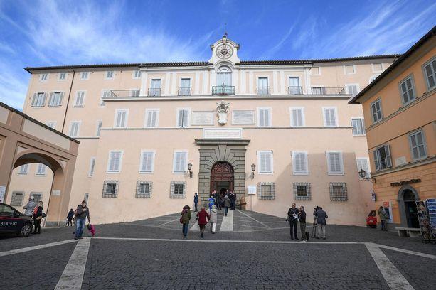 Castel Gandolfon paavillinen huvila on auki yleisölle.