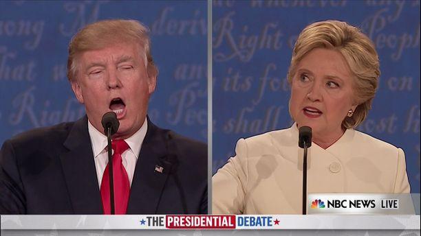 Lokakuussa 2016 kolmannessa ja viimeisessä presidentinvaaliväittelyssä demokraattien presidenttiehdokas Hillary Clinton totesi Donald Trumpin olevan Venäjän ja Vladimir Putinin sätkynukke.