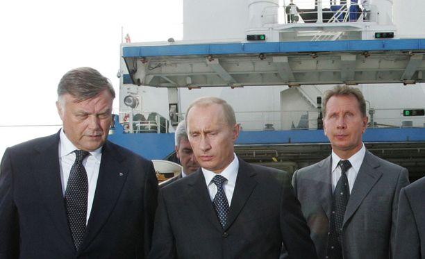 Venäjän presidentti Vladimir Putin tutustumassa Kaliningradiin alueeseen.