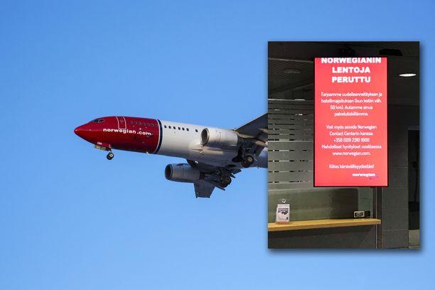 Finavian mukaan Suomessa Boeing 787 MAX 8 -koneilla lentävät Norwegian, TUI ja FlyDubai.