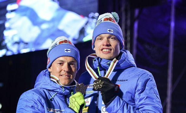 Sami jauhojärvi ja Iivo Niskanen nappasivat Lahdessa pariviestin MM-pronssia.