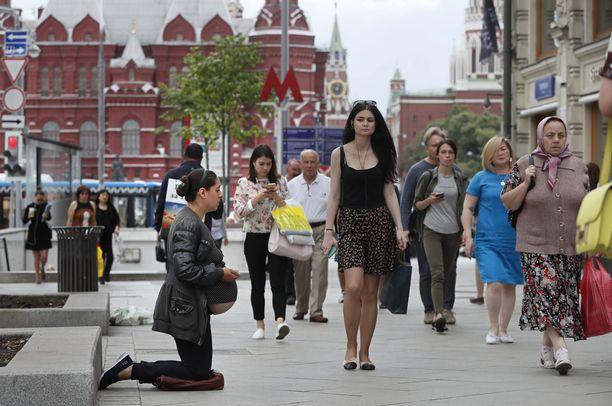 Jo yli neljännes venäläisistä on eläkeiässä.