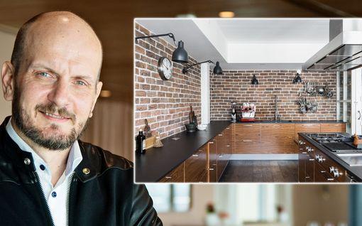 Hans Välimäki laittoi uniikkikotinsa myyntiin – tältä näyttää huippukokin oma keittiö: Katso kuvat