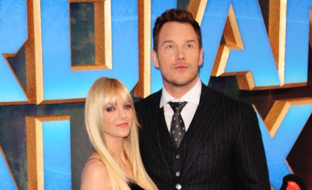 Anna Faris ja Chris Pratt päätyivät avioeroon.