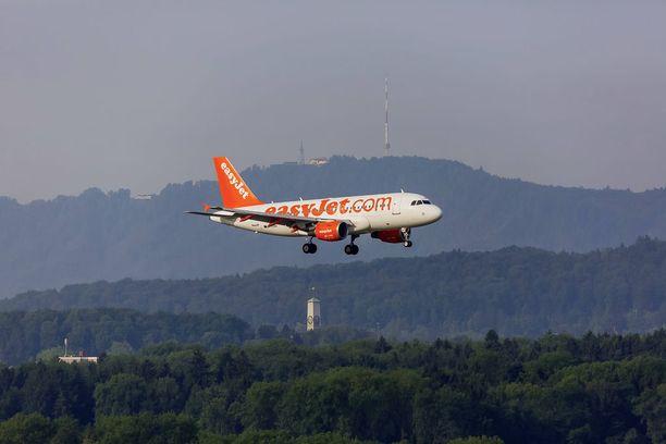 Lehden mukaan lentoyhtiö ei tiedottanut matkustajia tehokkaasti muutoksista. Kuvituskuva.