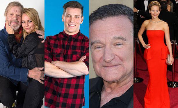 Vain elämää, Putous, Robin Williamsin kuolema, Jennifer Lawrencen vuotaneet alastonkuvat... Vuoteen sisältyi iloa ja surua.