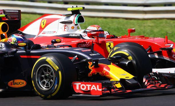 Kimi Räikkönen ampaisee Saksan GP:hen viidennestä lähtöruudusta.
