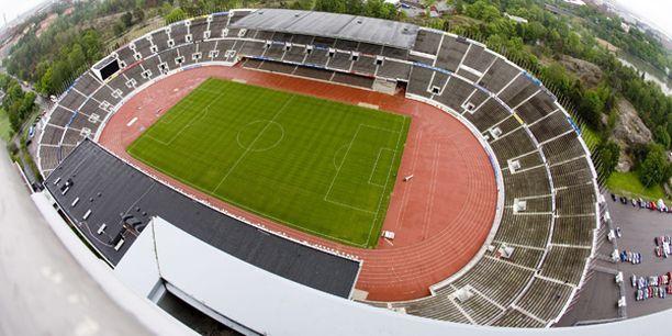 Tässä on vuoden 2012 EM-kisojen todennäköinen pitopaikka: Helsingin olympiastadion.