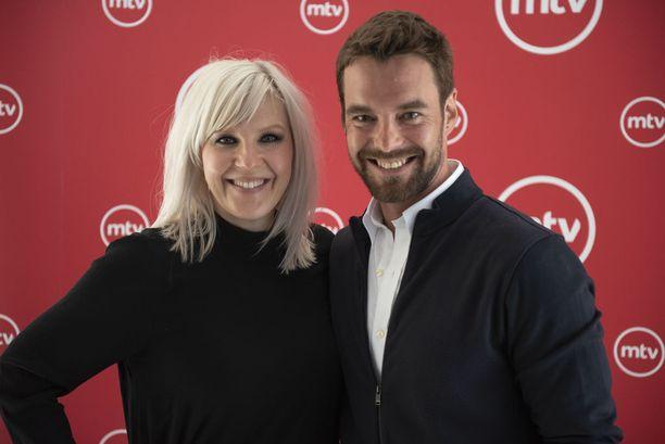 Vappu Pimiä ja Mikko Leppilampi juontavat yhdessä syksyllä alkavan Tanssii Tähtien Kanssa -ohjelman.