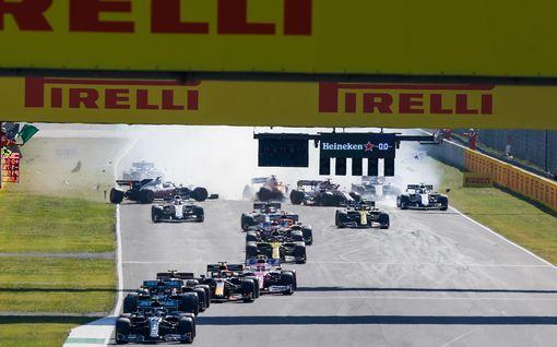 Tuomaristo antoi päätöksensä Toscanan GP:n joukkokolarista – Valtteri Bottaksen toiminnassa ei moitittavaa, hurja määrä varoituksia