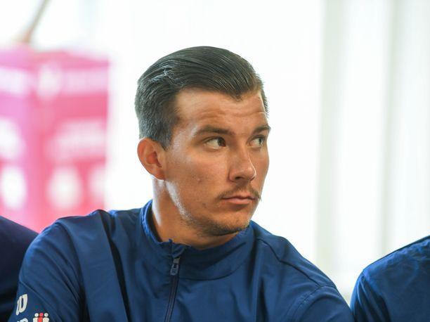 Patrik Niklas-Salminen palasi heinäkuussa pelikentille kivuliaan rannevamman jälkeen.