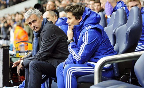 Jose Mourinhon Chelsea on hävinnyt yli puolet otteluistaan tämän kauden Valioliigassa.