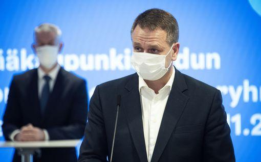 Vapaavuori: Rajoitukset toimivat Helsingissä – tartuntojen lisääntyminen taittumassa
