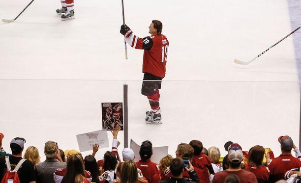 Coyotes-ikoni Shane Doan päättää 21 vuotta kestäneen NHL-uransa.