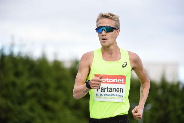 Partanen on tällä kaudella tehnyt useita Suomen ennätyksiä.