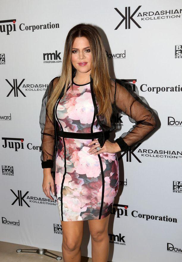 Khloe Kardashian on yksi kuuluisan Kardashienin perheen sisaruksista.