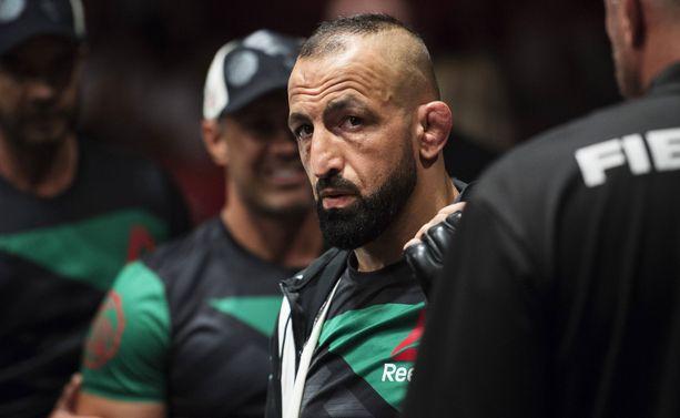 Reza Madadi ehti otella UFC-häkissä viisi vuotta.