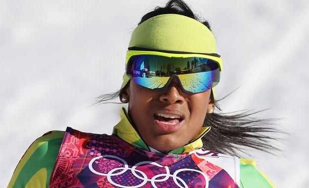Mathilde-Amivi Petitjean edusti Togoa myös Sotshin olympialaisissa.