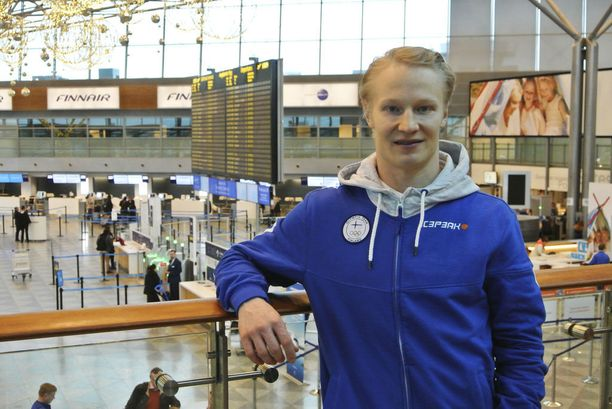 Peetu Piiroinen suuntasi viikonloppuna kohti talviolympialaisia.