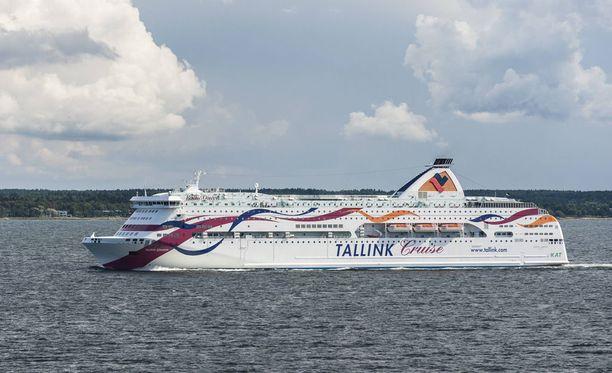Matkustajamäärät kasvoivat varsinkin Suomen ja Viron välisellä reitillä.