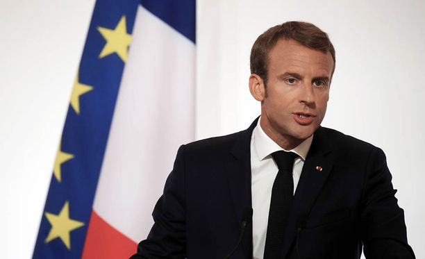 Emmanuel Macron saapuu kaksipäiväiselle valtiovierailulle Suomeen.