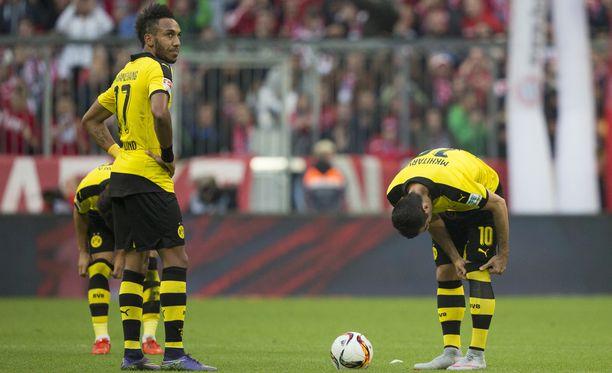 Dortmund saa vieraita Wolfsburgista.