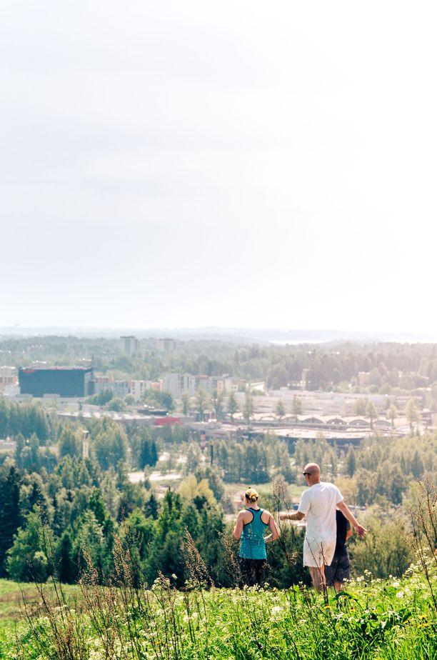 Malminkartanonhuippu on Helsingin korkein paikka.